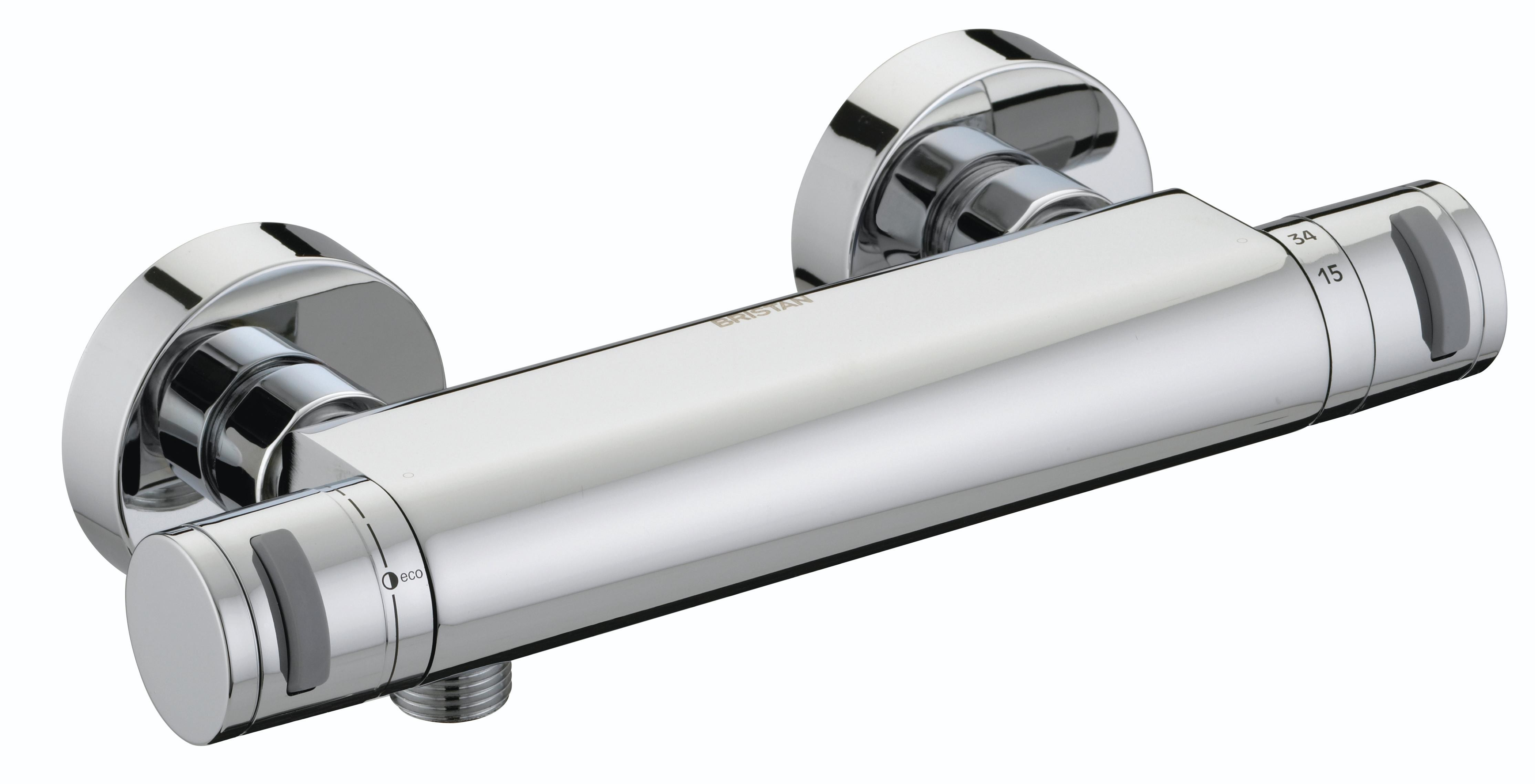 Bristan Artisan Thermostatic Surface Mounted Bar Shower Valve Fast