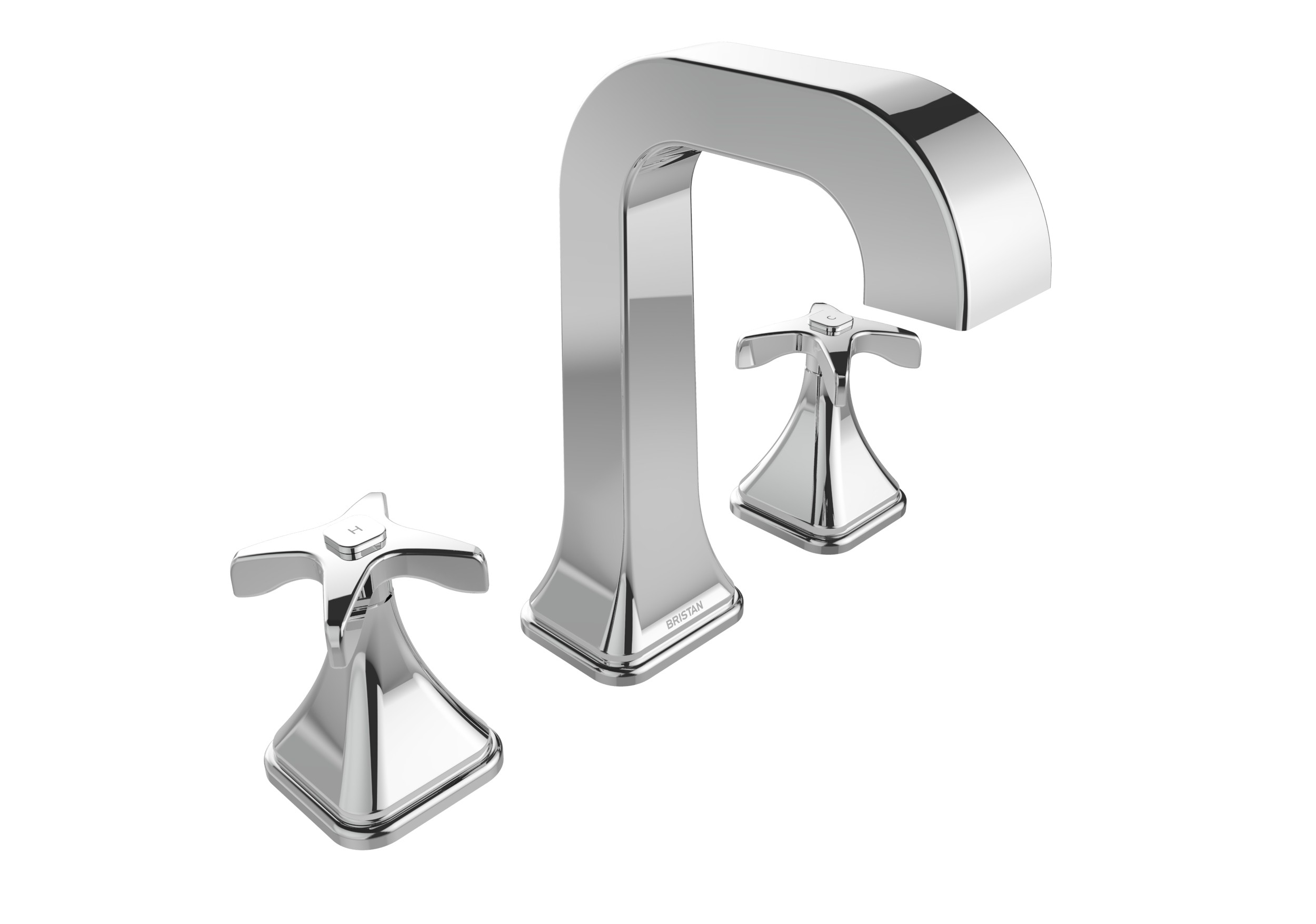 BRISTAN Glorious 3 Hole Basin Mixer Chrome