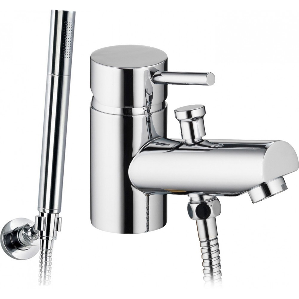 PURA - Xcite Mono Bath Shower Mixer with Kit  XCMBSM