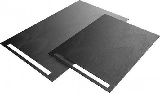 Wedi Fundo Top Riolito neo 1200 x 900mm (for Fundo Riolito neo floor element 075100004) - Carbon Black - natural stone look  [072020600]