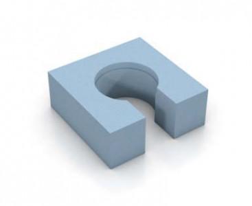 Wedi Fundo channel drain substructure element  [073732091]