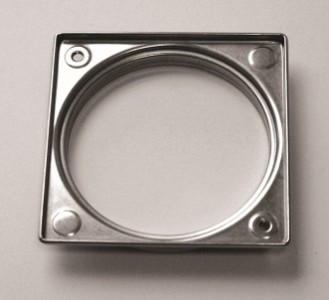 Wedi Fino Frame - Square 10mm Thick  [077100003]