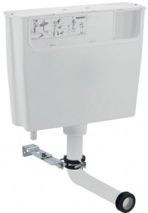 Geberit Low-height furniture cistern 6 litres pneumatic flush actuation [109721002]