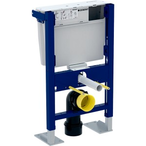 Geberit Duofix frame for Wall Mounted WC with concealed cistern for low height furniture.  [111207002]