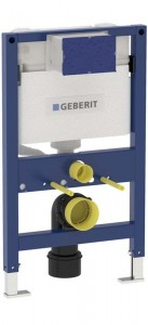 Geberit Duofix WC Frame 82cm with Kappa 15cm Front Operated Cistern  [111260001]