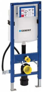 Geberit Duofix WC Frame for Disabled WC 112cm with Sigma 12cm Front Operated Cistern.  [111352005]