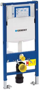 Geberit Duofix WC Frame 112cm with Sigma 12cm Front Operated Cistern [111383005]