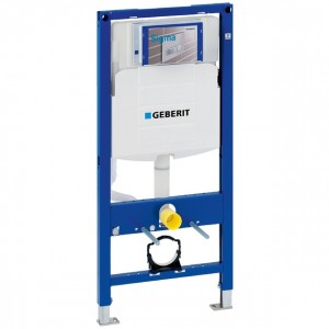 Geberit Duofix WC Frame 112cm with Sigma 12cm Front Operated Cistern Not including Pre Wall brackets and WC bend [111384005]