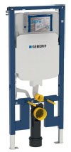 Geberit Duofix Reduced Depth WC Frame 112cm with Sigma 8cm Front Operated Cistern [111799001]