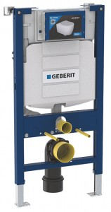 Geberit Duofix WC Frame (98cm) with Sigma 12cm Front Operated Cistern [111911005]