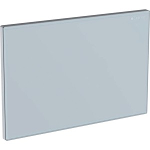 Geberit Cover Plate - White Glass [115082SI1]
