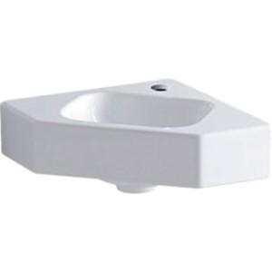 Geberit iCon Corner Hand Basin 33cm One tap hole - White [124729000]