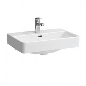 Laufen Pro S Basin Glazed All Sides 60 x 38cm One tap hole   - White [12953WH]