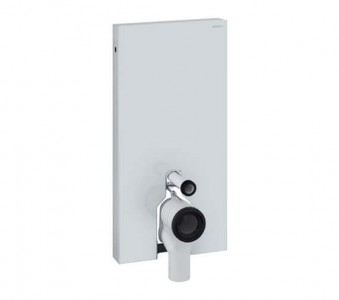 Geberit WC Monolith 485 x 1010h x 106mm: White Glass [131002SI5]