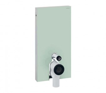 Geberit WC Monolith 485 x 1010h x 106mm: Mint Glass [131002SL5]