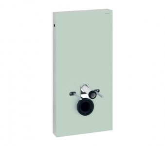 Geberit WC Monolith 485 x 1010h x 106mm: Mint Glass [131021SL5]