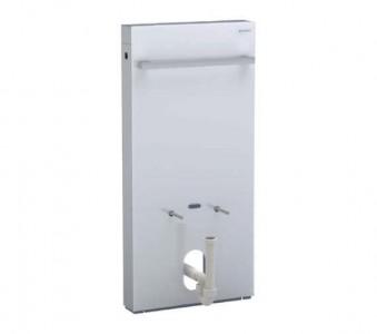 Geberit Bidet Monolith 485 x 1010h x 106mm - White Glass [131030SI5]