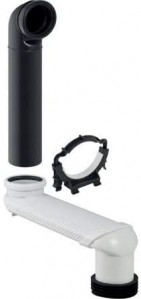 Geberit S bend for monolith for Wall Mounted WC  [131088291]