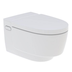 Geberit Mera Classic Rimless Wall Mounted Shower Toilet - White [146200111]
