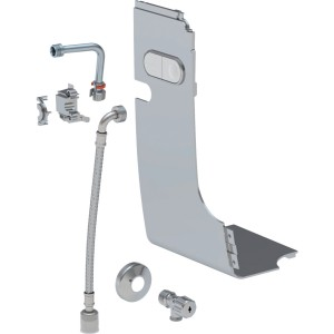 Geberit Floor-standing exposed water supply connection set - Gloss Chrome [147033211]