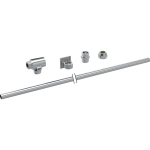 Geberit Tuma Exposed Water supply connection set for Geberit concealed cistern 12 cm [147035001]