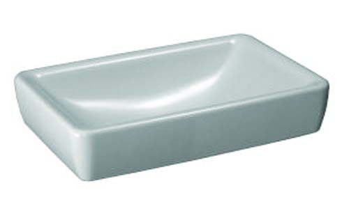 Laufen Pro S Basin with Ground Base 60 x 40cm without overflow No tap hole - White [16952WH]