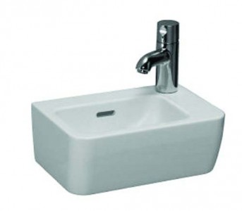 Laufen Pro Hand Basin 36 x 25cm One tap hole on right hand side - White [16955WH]
