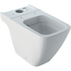 Geberit iCon Square Rimless close coupled WC pan - White [200930000]