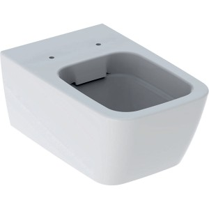 Geberit iCon Square rimless Wall Mounted WC pan - White [201950000]