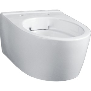 Geberit iCon Rimless compact Wall Mounted WC pan - White [204070000]