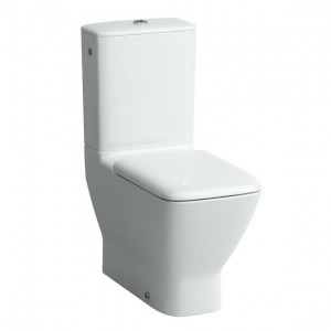 Laufen Palace Close Coupled Cistern & lid including top flush fittings (Bottom inlet) 3/6 litre - White [287020008721]