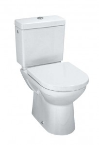 Laufen Pro Close coupled pan (fully back to wall) with bottom inlet  - White [249584002311]