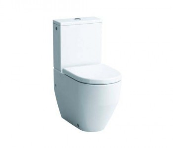 Laufen Pro Close Coupled WC Pan (fully back to wall) - White [259520000001]