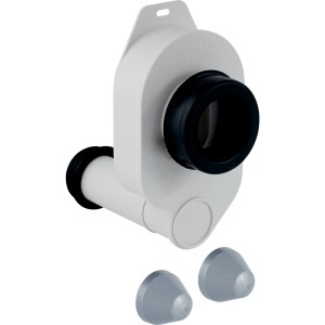 Geberit urinal trap for urinals with rear outlet - White - White [261483111]