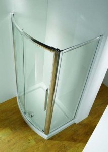 Kudos 1100 Bow fronted plinth excluding fascia - White  [PLB150]
