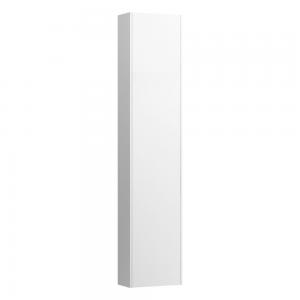 Laufen 4026511102601 Pro S Slim 165cm Tall Left Hinge Cabinet with Reduced Depth - Matt White