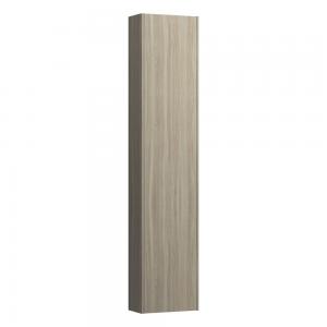 Laufen 4026511102621 Pro S Slim 165cm Tall Left Hinge Cabinet with Reduced Depth - Light Elm