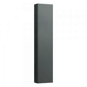 Laufen 4026511102661 Pro S Slim 165cm Tall Left Hinge Cabinet with Reduced Depth - Traffic Grey