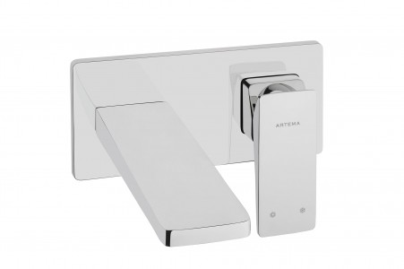 Vitra Brava Wall mounted basin mixer - Chrome [42394]