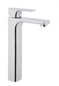 Vitra Sento Tall Basin Mixer - Side - Chrome [42523]