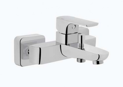 Vitra Sento Bath Shower Mixer - Chrome [42516]