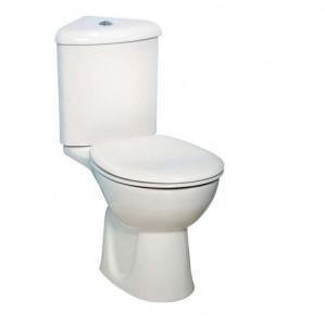 Vitra Layton Corner Cistern and lid - White [4232WH]
