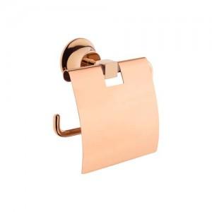 Vitra Juno Toilet Roll Holder with Cover - Copper  [4442226COPPER]