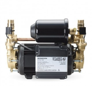Stuart Turner 46412 Monsoon Universal U4.5 Bar Twin Shower Pump