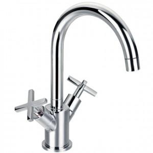 Pegler Morea Monobloc Basin Mixer - Chrome [4G3150]
