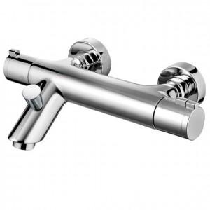 Pegler Haze Wall Mounted Bath Shower Mixer - Chrome [4G4017]
