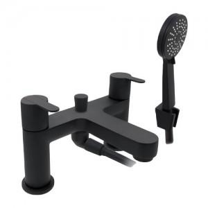 Pegler Strata Black Bath Shower Mixer [4K5011]
