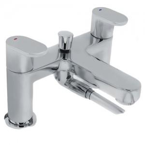 Pegler Strata Blade Bath Shower Mixer - Chrome [4K6060]