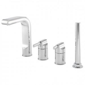 Pegler Panacea 4 Hole Bath Shower Mixer - Chrome [4P2005]