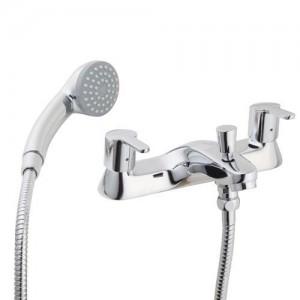 Pegler Araya Bath Shower Mixer - Chrome [4S1204]